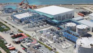 water desalination cape town harbour