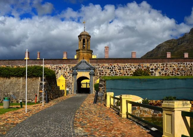 Castle of Good Hope plays with fire