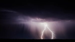 lightning thunderstorm cape town
