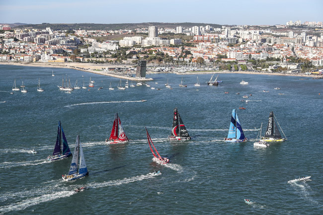 Leg 2 of the Volvo Ocean Race - Lisbon to Cape Town