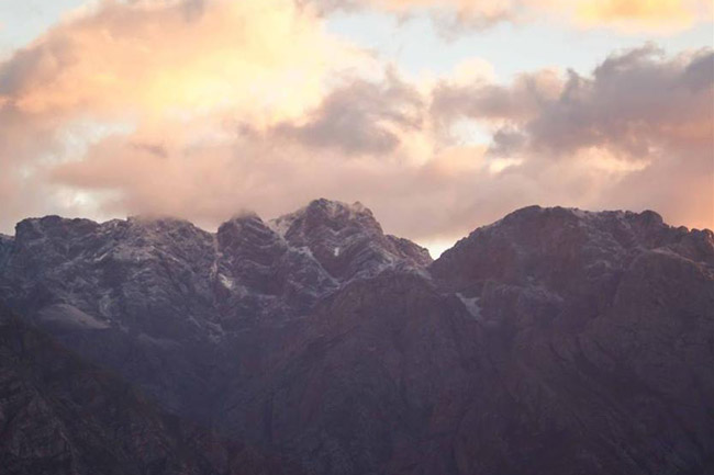 PICTURES: Snow-capped Western Cape mountains