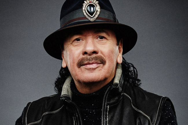 Carlos Santana to rock Cape Town