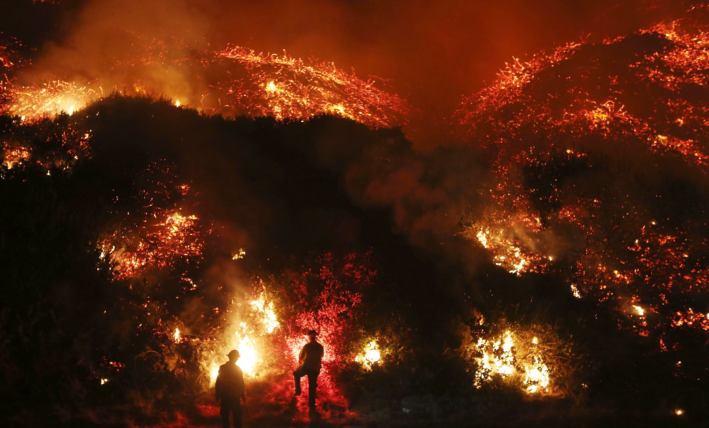 WATCH: Raging California fires remind us to be extra cautious