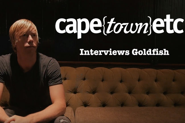 WATCH: Goldfish chats to Cape Town ETC