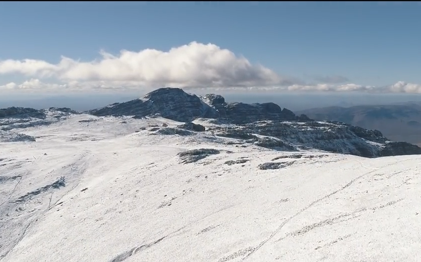 Video of November's snow in the Western Cape