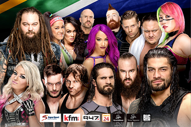 WWE live in Cape Town