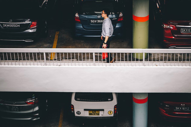 PICTURES: What would you do for a parking spot in Cape Town?