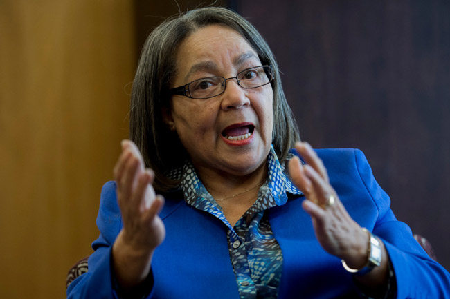 Patricia De Lille suspended from party activites