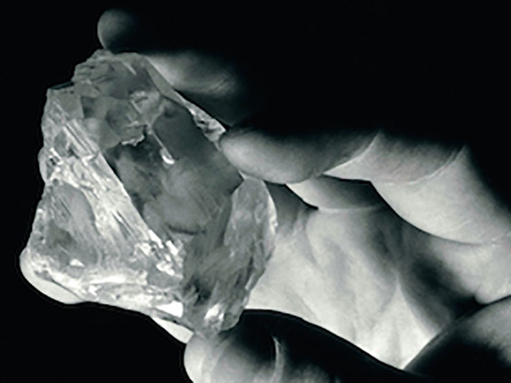 One of the largest diamonds in history found