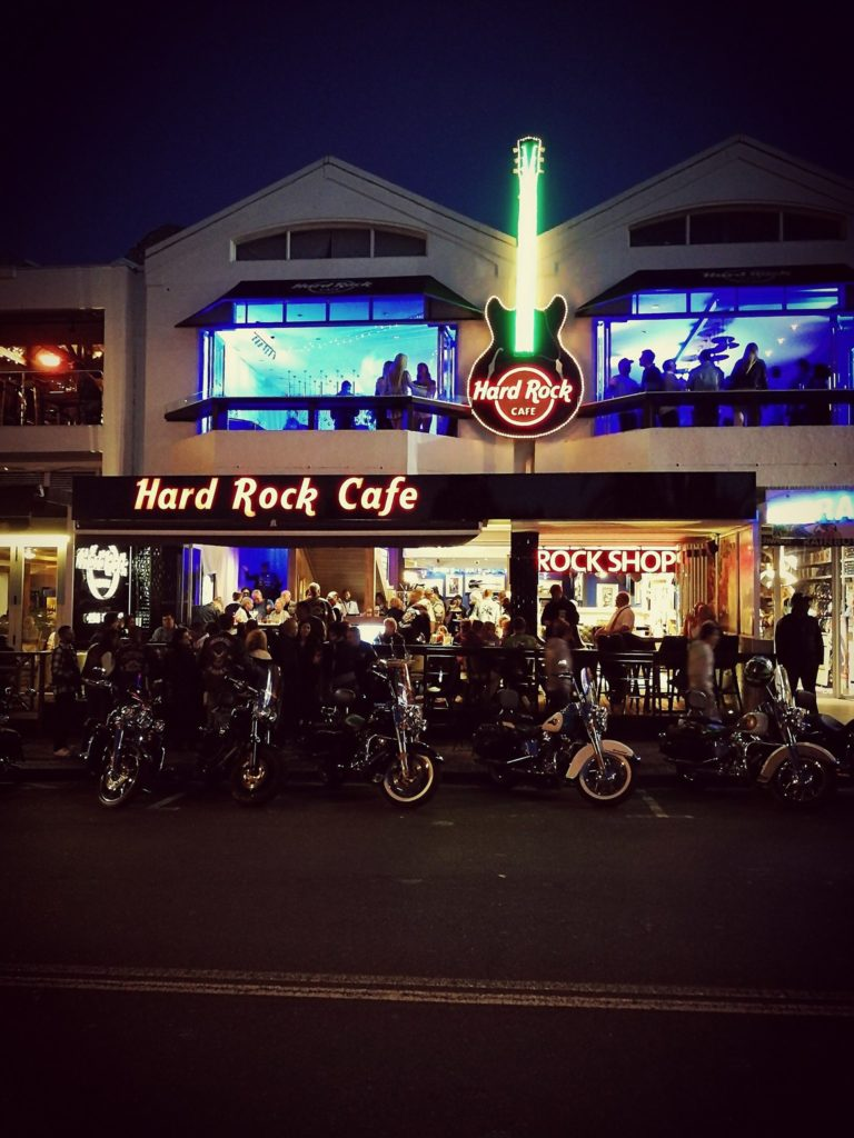 The new rockstar in Camps Bay - Hard Rock Cafe