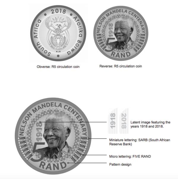 r5 mandela coin worth