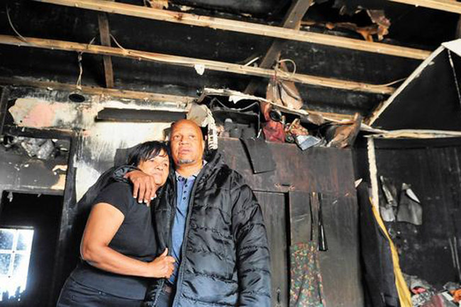 Family loses home to fire caused by New Year's fireworks