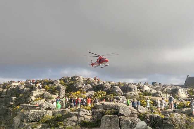 Two dead in Table Mountain climbing fatality
