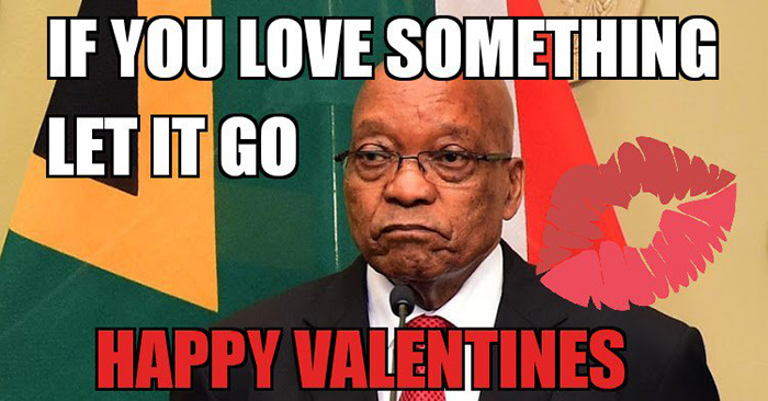 SA breaks up with Zuma on Valentine's Day