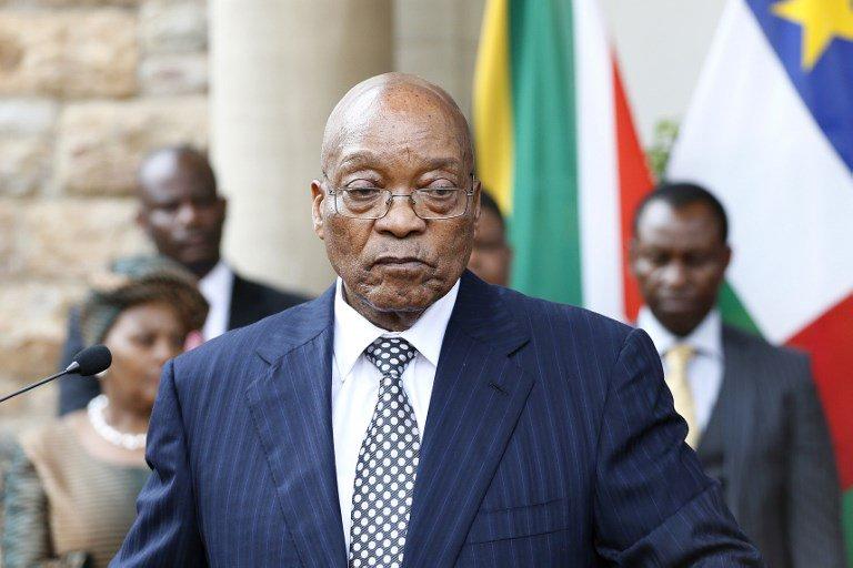 President Jacob Zuma remains defiant