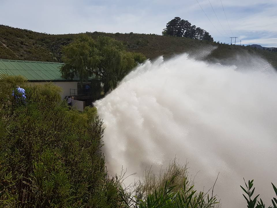 Farmers release water to help Cape Town