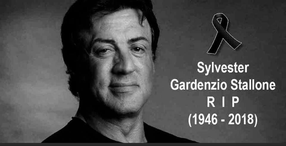 Sylvester Stallone dies... again