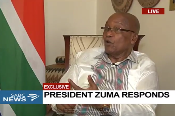 President Zuma says he doesn't know what he did wrong