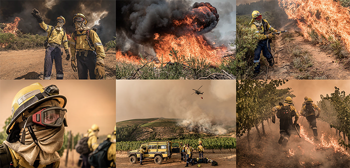 Watch Cape's firefighters in action