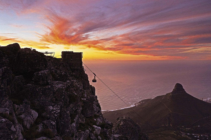 Valentine's Day on Table Mountain