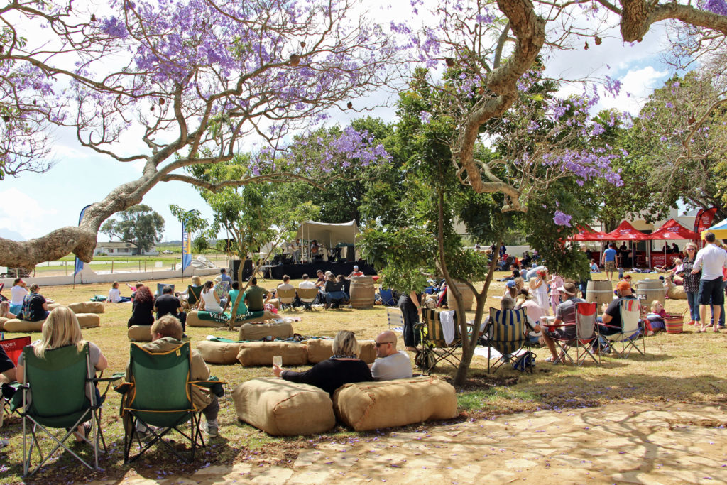 A great ducking concert at Vergenoegd