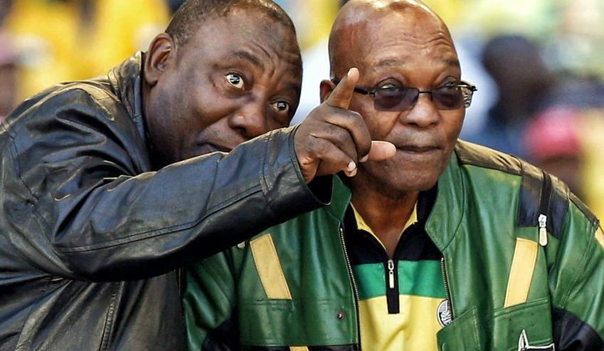 Where should Cyril treat Zuma for his last supper?