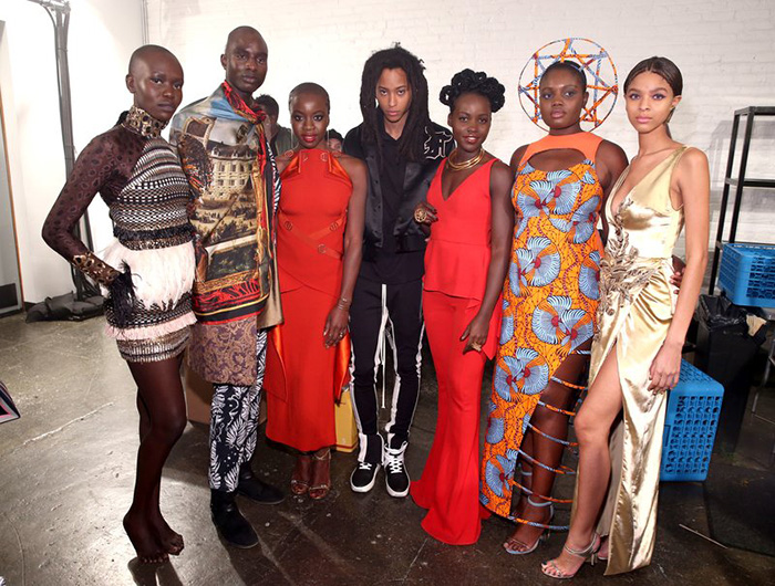 Black Panther inspired line wows at Fashion Week