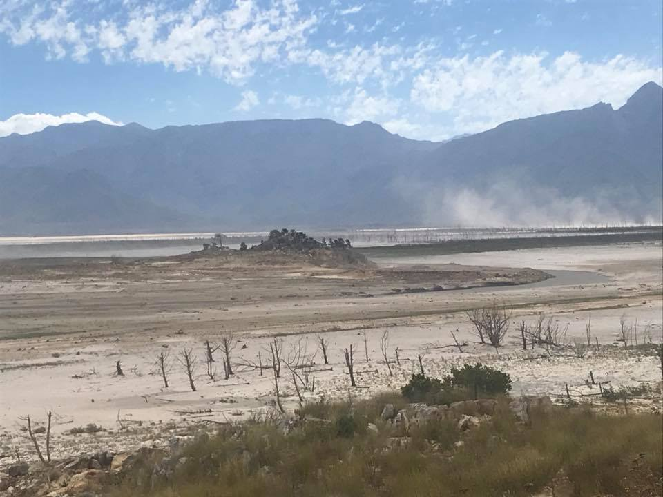 Latest pictures show Theewaterskloof Dam in critical state