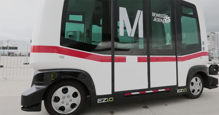 Mother City tests driverless transport