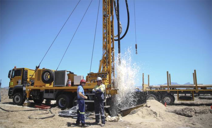Theft at aquifer drilling sites causes delay