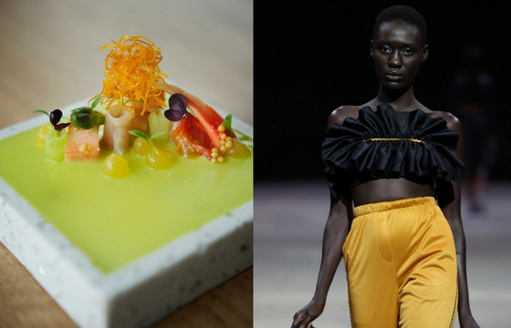 Fashion and Food - same same but different