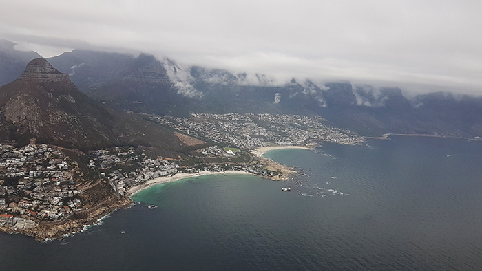 Cape Town on a cloudy day