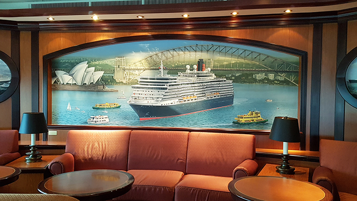 All aboard the Queen Elizabeth