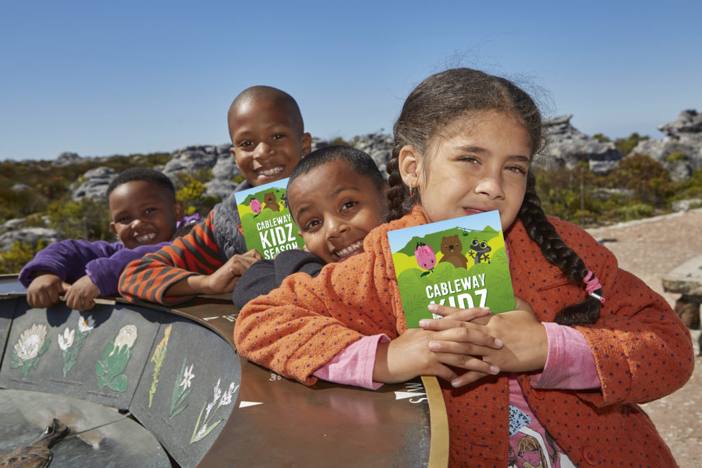 Table Mountain Cableway kids special on again