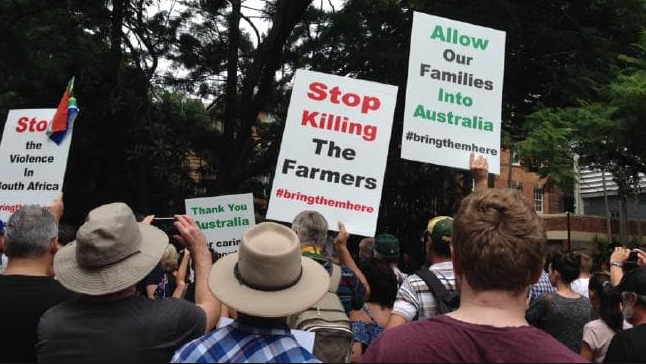 More protests in Perth for SA farmers