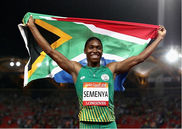 Caster Semenya breaks Zola Budd's record