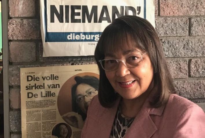 Patricia De Lille still mayor of Cape Town