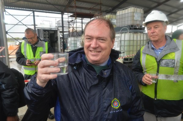 Cape Town's first desalination plant online