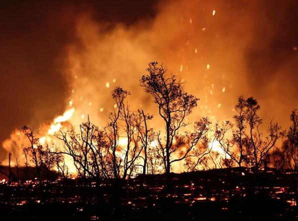 Volcano eruption in pictures
