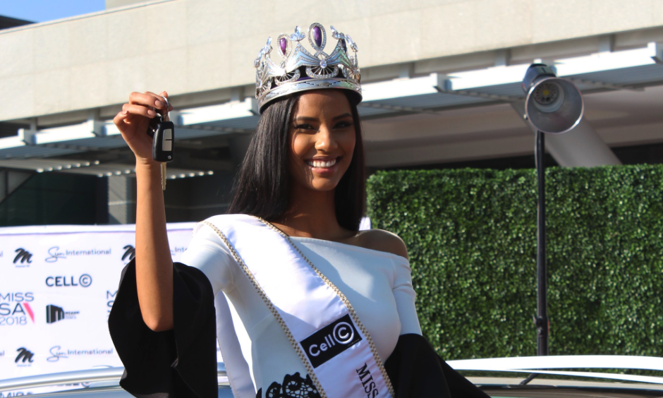 About Miss South Africa...