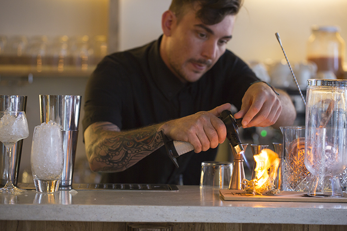 From plant to glass at Botanical Bar