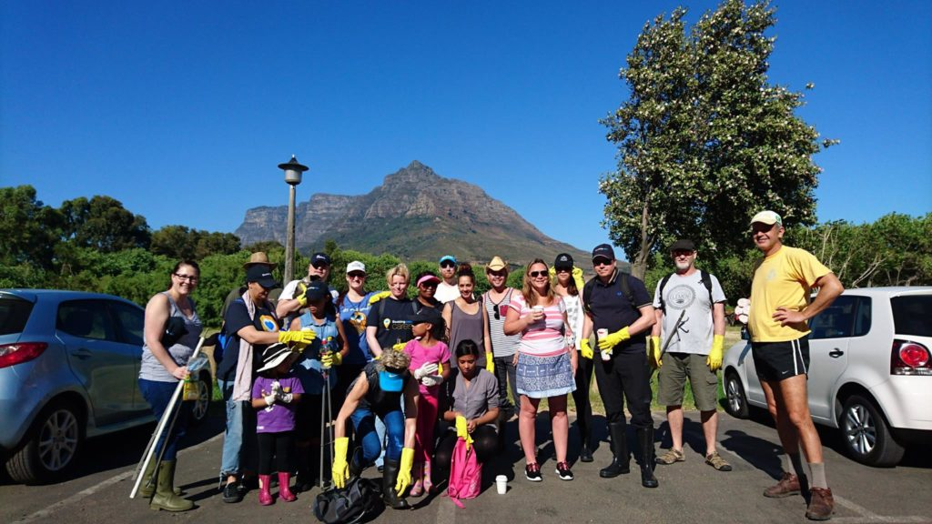 Cape Town communities clean polluted rivers