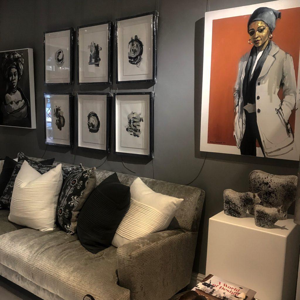 New trendy art gallery in De Waterkant