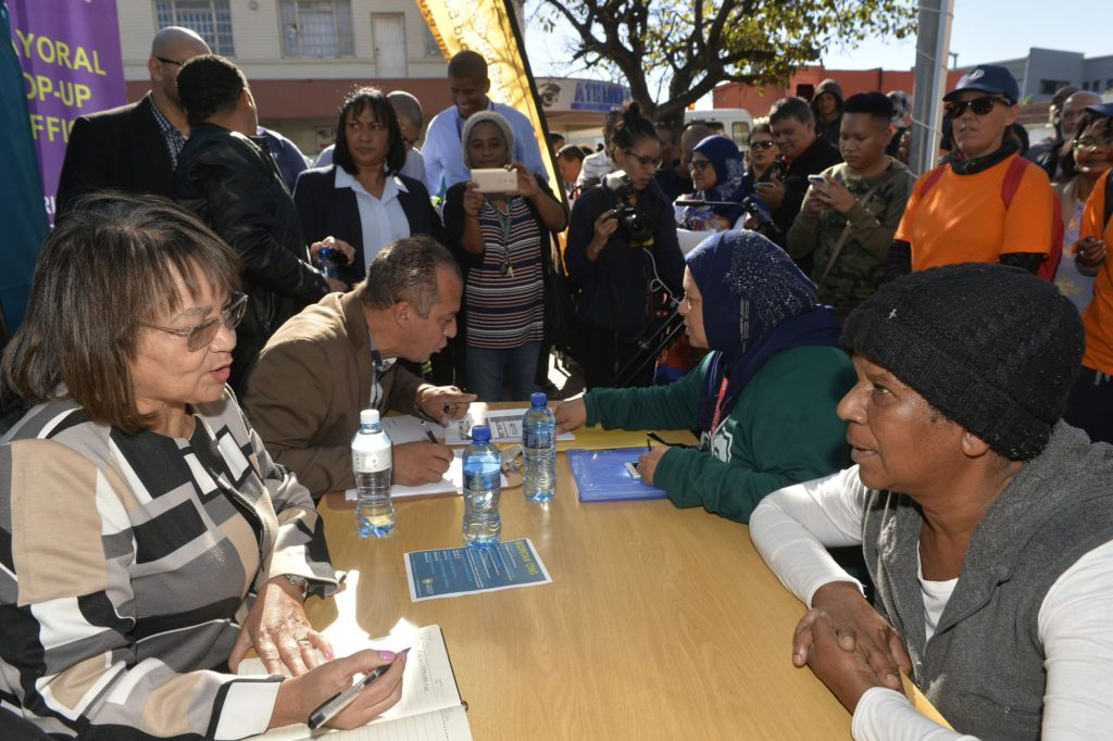 De Lille pleads with communities not to invade land