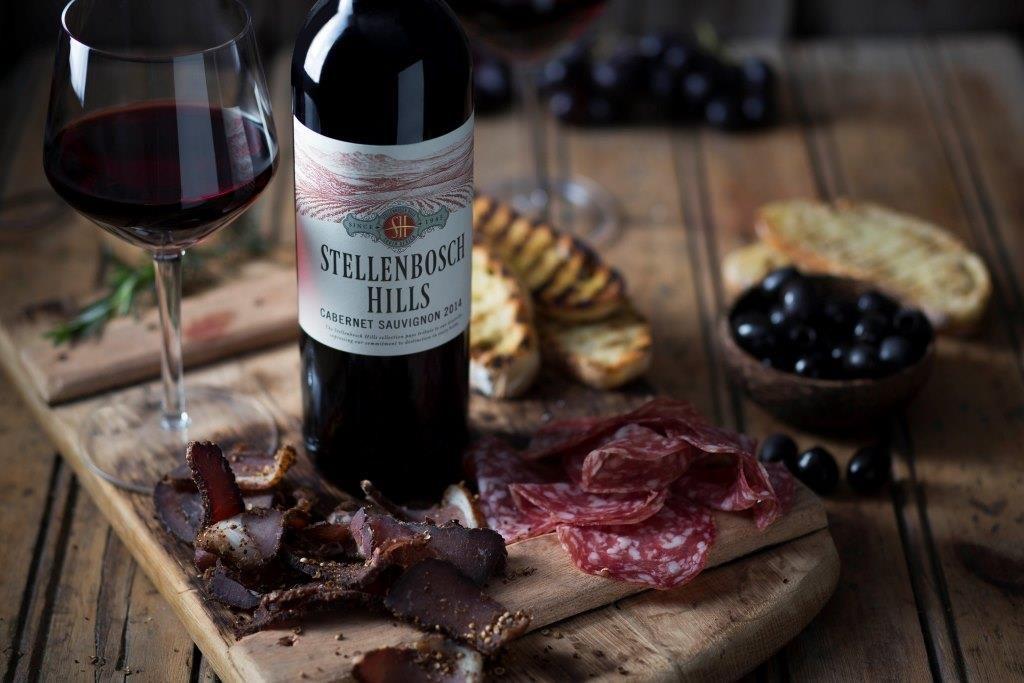 Stellenbosch Hills Biltong & Wine Pairing