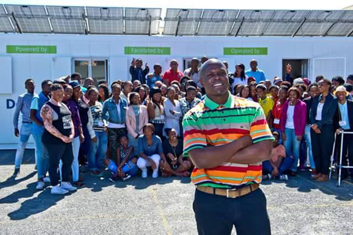 Ex-con transforms local township into tech hub