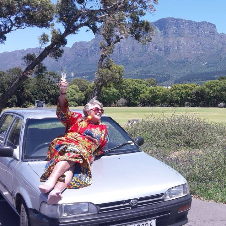 Gran completes bucket list drive from Cape Town to London