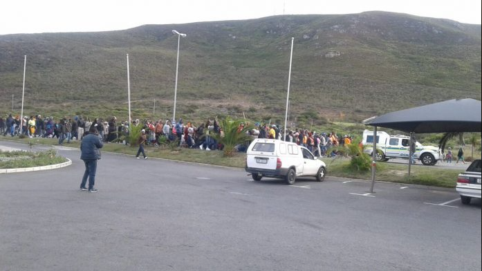 Hermanus protests cause R40-million in damages
