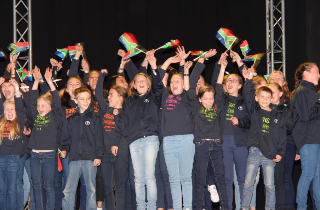 Cape Town school choir wins gold