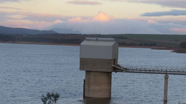 Dam levels rise to 56.4%